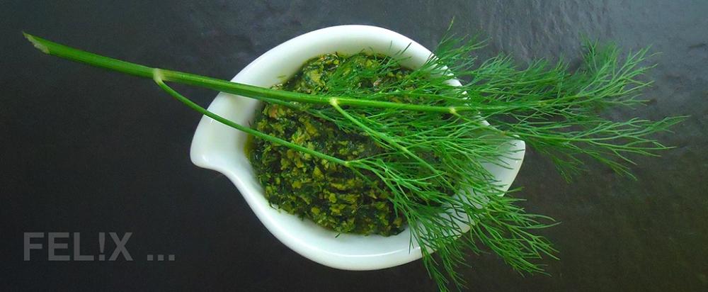 Dill-Pesto